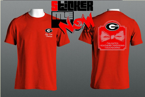 GEORGIA Logo With Bow On Back