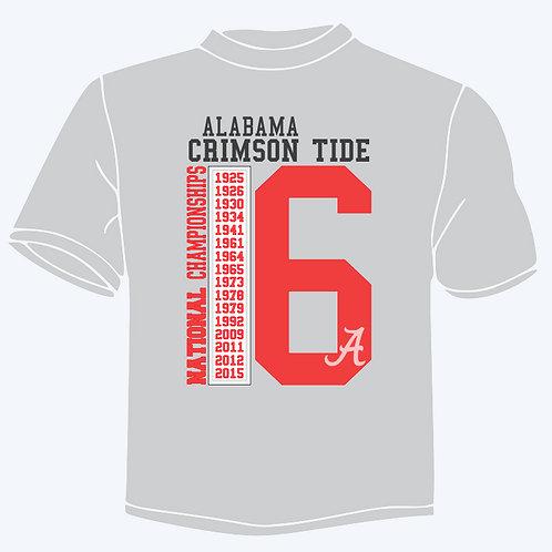 Alabama National championships 2016