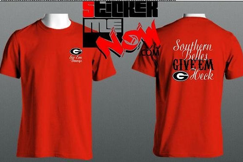 GEORGIA Logo With Words On Back