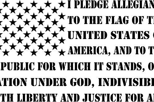 Second Amendment All Caps Flag