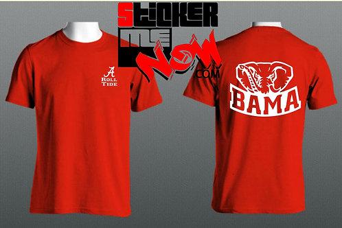 Alabama Logo With Elephant On Back