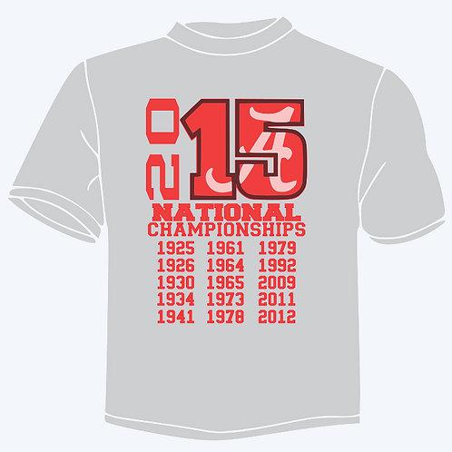 Alabama National championship 2015
