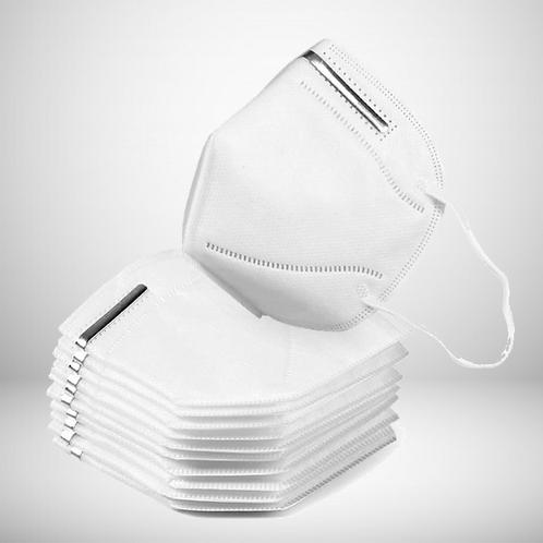 Máscara KN95 -FFP2                                     (Lote com 10 unidades)