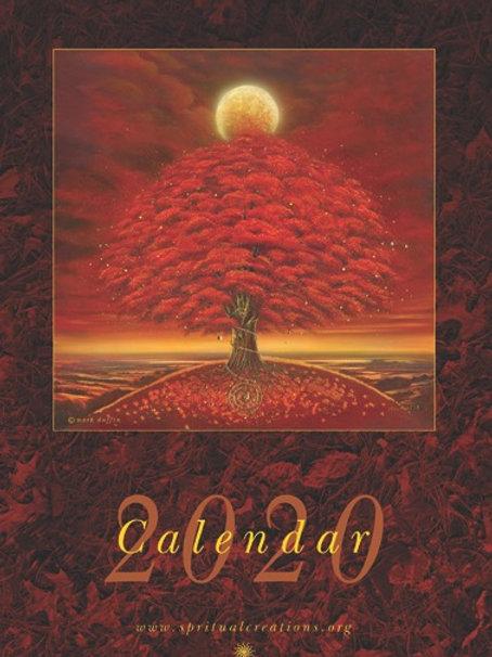 Trees calendar 2020