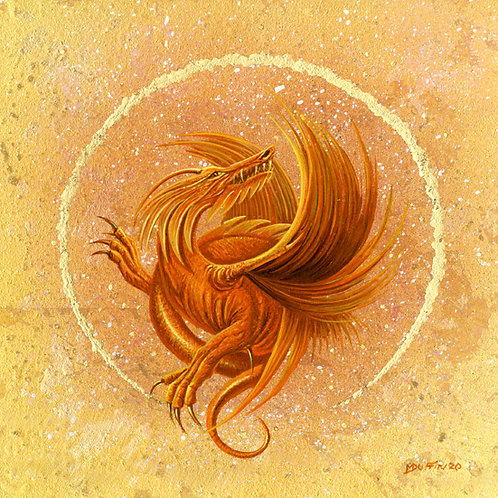 Autumn Dragon -small