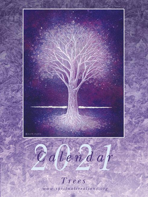 Trees calendar 2021