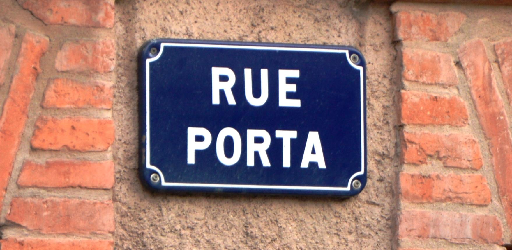 La rue Porta