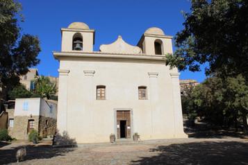 Eglise de Pigna, en Corse
