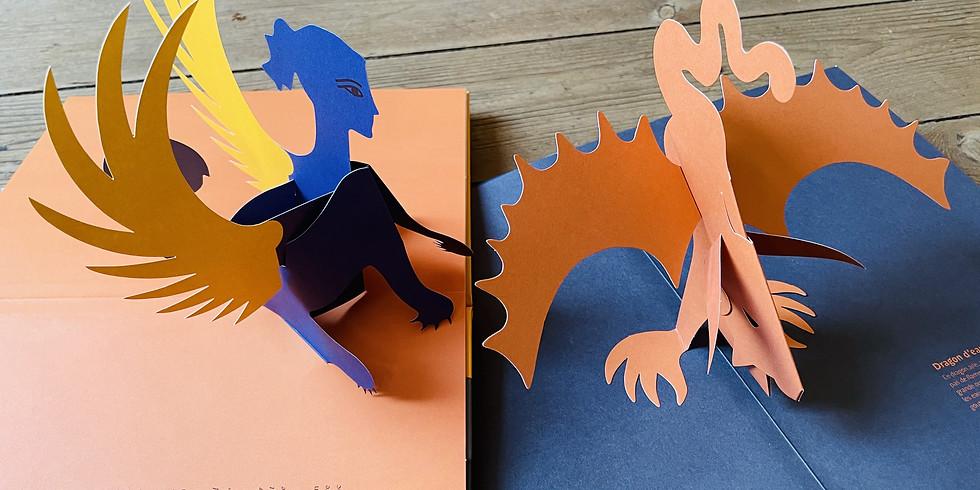 Atelier Pop-up inspiré de Paul Rouillac  6/10 ans 14h00-15h30