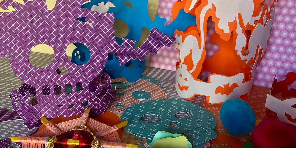 Atelier masques et coiffes pour Halloween - 5/12ans