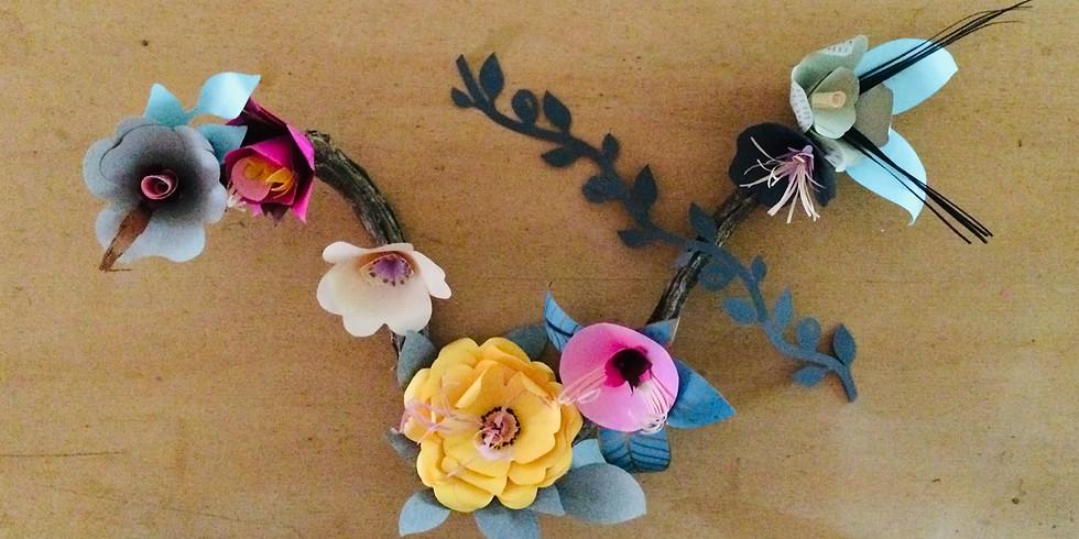 Décoration florale - 8/12 ans