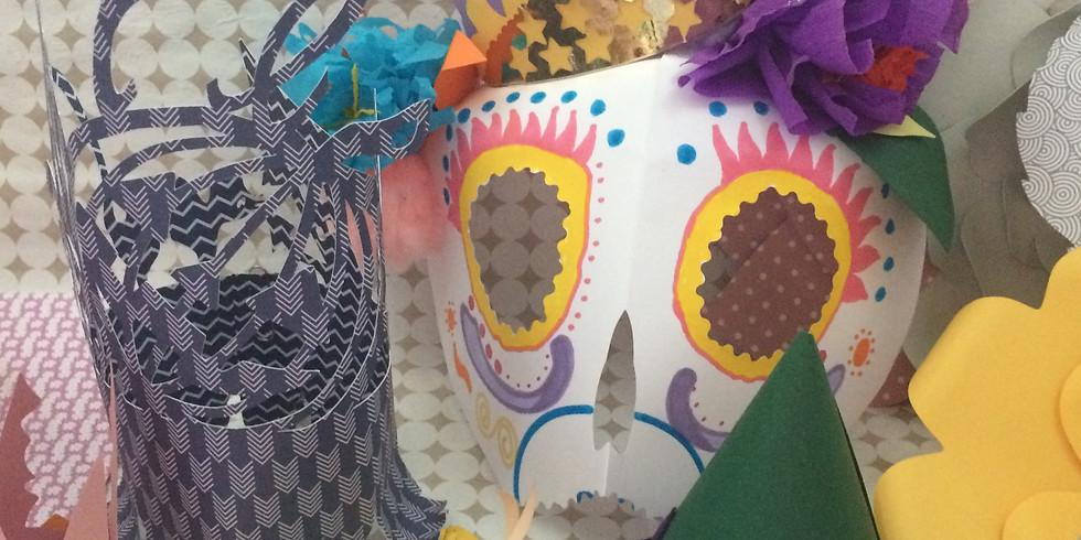 Atelier masques et coiffes pour Halloween - 7/12 ans