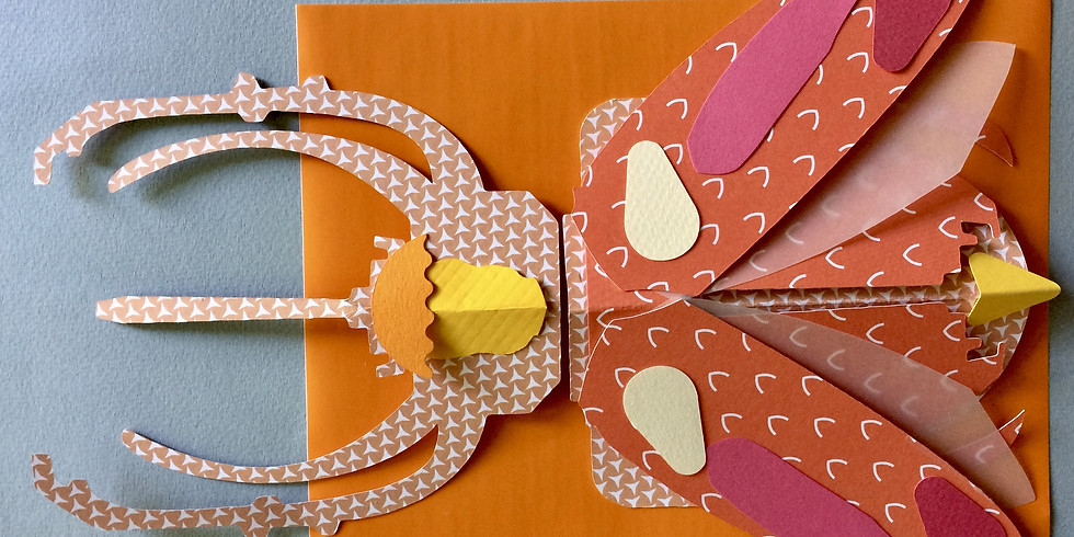 Fabrication d'insectes imaginaires - 8/12 ans