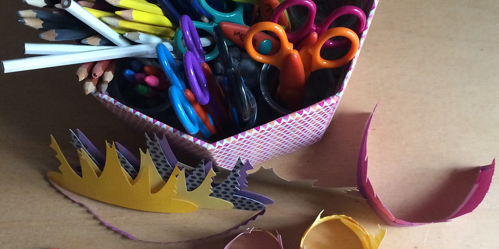 Atelier intéractif - Masques, couronnes et coiffes de déguisement !