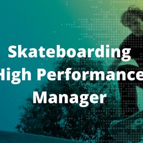 Recruiting Skateboarding High Performance Manager