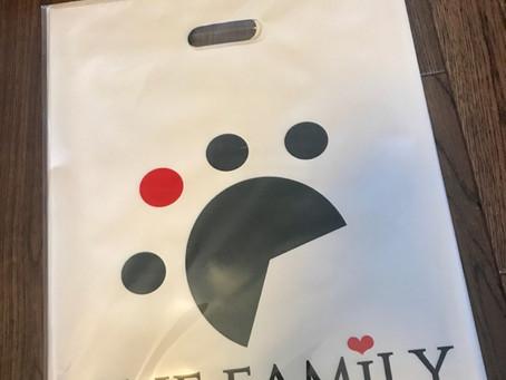 ONE FAMiLYの袋