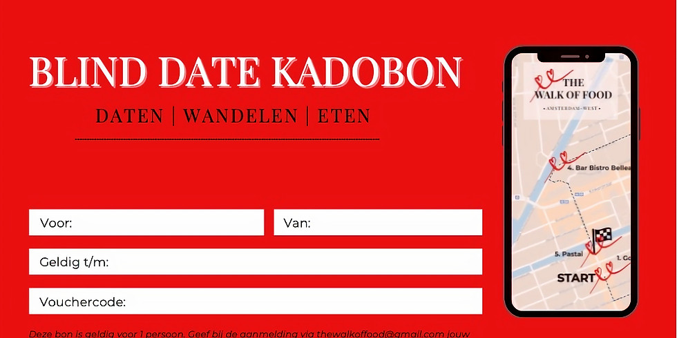Blind Date | Kadobon