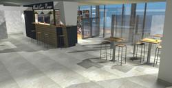 Rénovation kiosque hôpital de Bastia