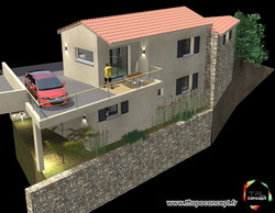 Rénovation maison village