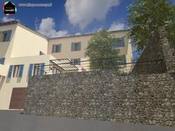 Réhabilitation maison de village