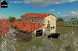 Rénovation ferme Corse