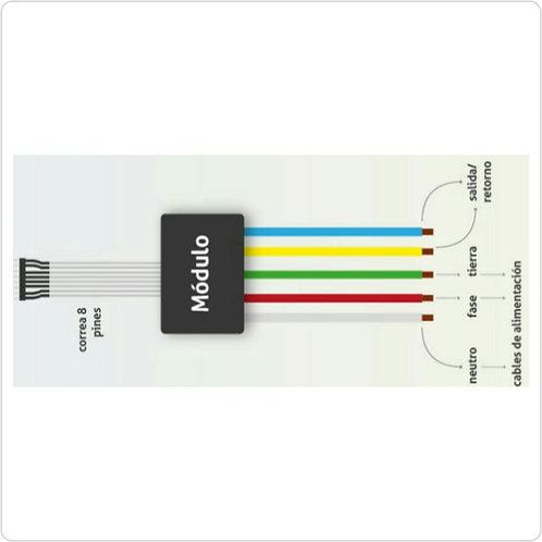 Modulo Dimmer Doble Max. Potencia Retorno 1: 250 Watts/ Retorno 2: 250 Watts