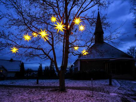 1. Advent: Sterne für Schönberg