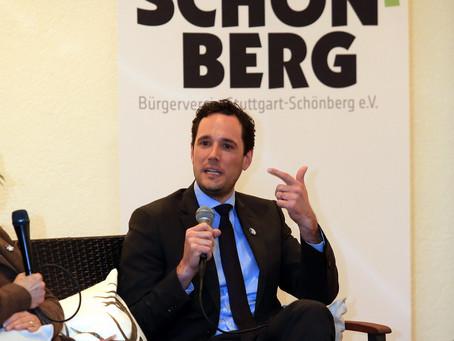 Bürgermeister Dr. Fabian Mayer zu Gast