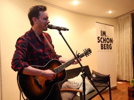 Eric Gauthier auf dem Schönbergbänkle