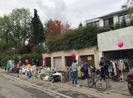 10/21: Flohmarkt im Schönberg