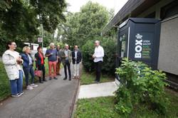 Eröffnung BUCH BOX im Schönberg am 2.8.21