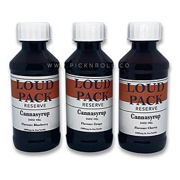 Loud Pack THC Cannasyrup 1000mg