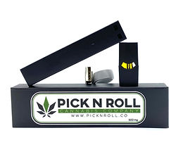Pick N Roll Vape Kit (THC Distallate with Terpenes)
