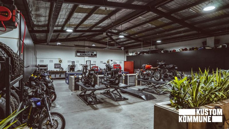 DIY Motorcycle Garages