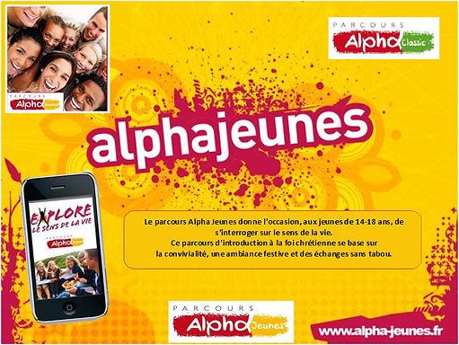 Alpha Jeunes (Lycéens)