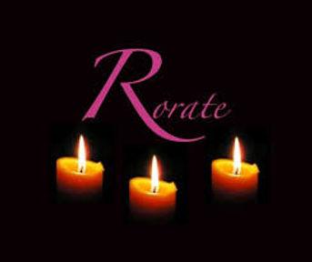 Messe du Rorate (Vendredis du mois de décembre)