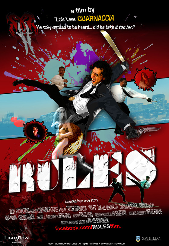 Action Movie 'RULES' Released On DVD By LightRow Pictures