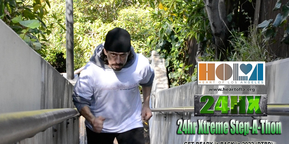 24HX Step-A-Thon is BACK in 2022 (DTBD)