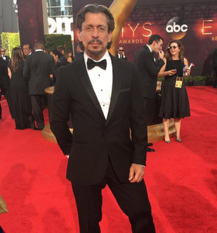 Zak at the Emmys Awards