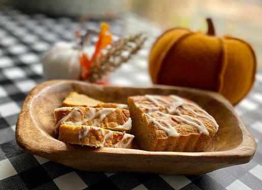Pumpkin Spice Bread (6 servings)