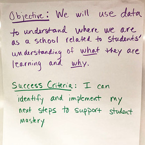 The Hidden Power of Learning Objectives