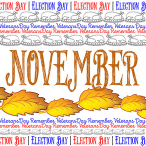 November: Free Resources From the Election to Thanksgiving