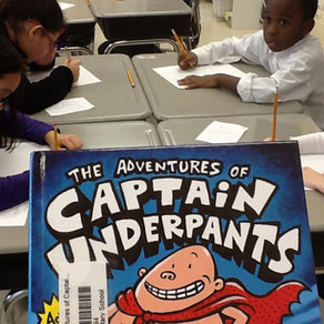 Happy and Engaged Writers: Graphic Novels and Underpants