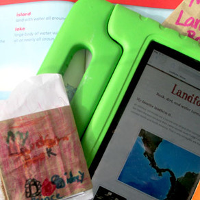 Paper Bag Books and iPads: Old Meets New in Landform Learning