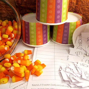 Common Core Halloween Math: Printable Games for Number Sense