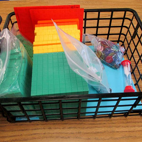 Math Manipulatives: Learning to Control the Chaos