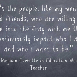 Response: Teachers Recognize Those Who 'Dive Into the Fray' With Us