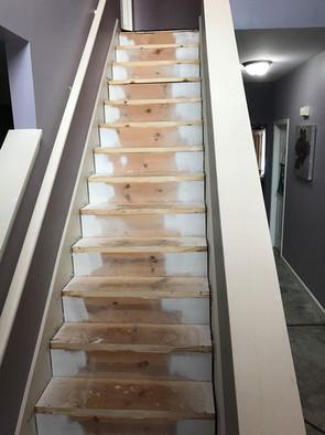 Before - Stairway