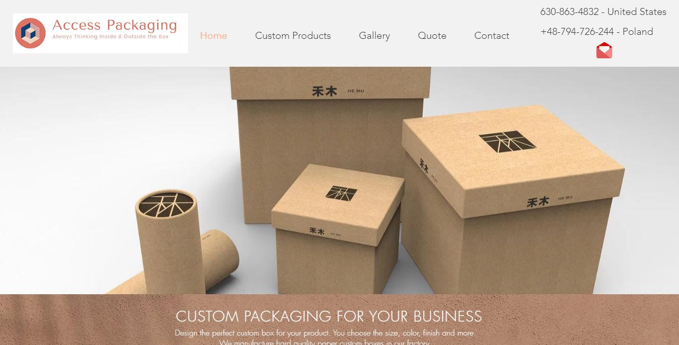 Access Packaging Website