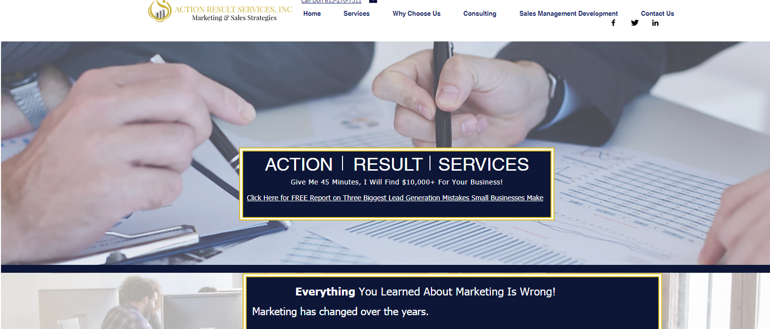 action result services
